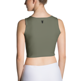P&P Crop Top Classic Olive Green