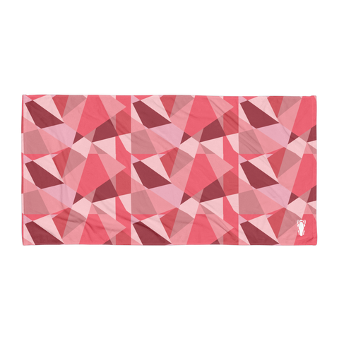 P&P Towel Pink Triangle