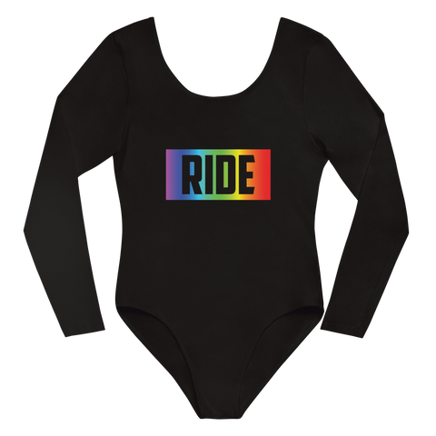 P&P Long Sleeve Bodysuit RIDE Rainbow