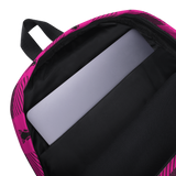 P&P Backpack Pink Plaid