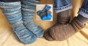Knitting Pure & Simple 116 -Mukluk Slippers