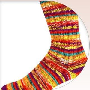 OnLine Supersocke Finished Socks, Size EU 39-40