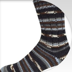Supersocke 6-ply Black-Color