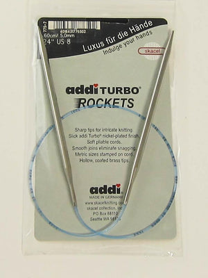 "Addi Turbo Rockets 24"" Circular  #13 (9mm) - Fengari Fiber Arts"