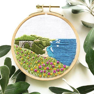 Big Sur Embroidery Kit
