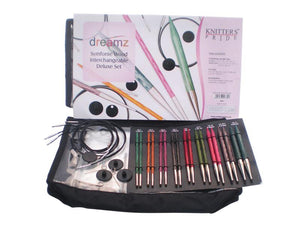 Knitter's Pride Dreamz Interchangeable Circular Needle Set - Deluxe