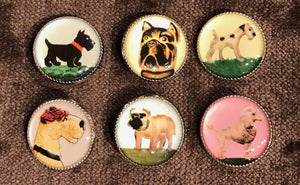 Picture Buttons - Dog Set