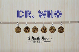 Stitch Markers - Dr. Who Inspired