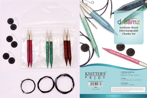 Knitter's Pride Dreamz Interchangeable Circular Needle Set - Chunky