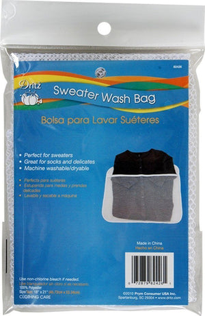 Dritz Mesh Zippered Sweater Wash Bag