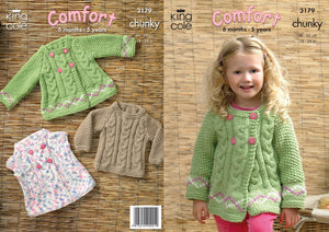 King Cole Pattern 3179