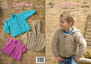 King Cole Pattern 3181