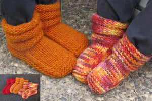 Knitting Pure & Simple 113 - Children's Mukluk Slippers