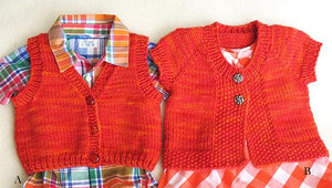 Knitting Pure & Simple 1301 - Baby Vest