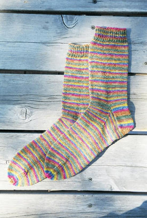 216 - Beginner's Light Weight Sock - Fengari Fiber Arts