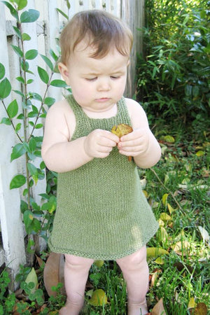 266 - Little Girl's Sundress or Jumper - Fengari Fiber Arts