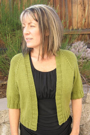 294 - Summer Open Cardigan - Fengari Fiber Arts
