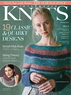 Interweave Knits Winter 2019