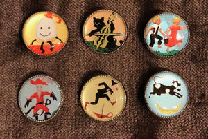Picture Buttons - Nursery Set