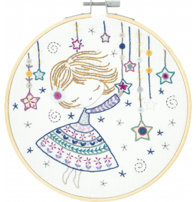 Salome Lights the Stars Embroidery Kit