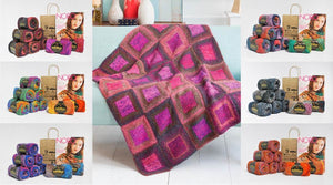 Kagayaki - Square in a Square Blanket Kit