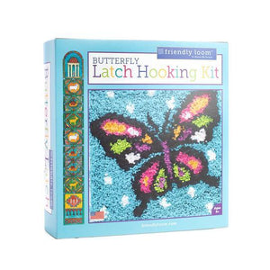 Latch Hooking Kit - Butterfly