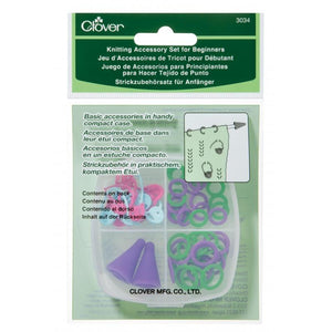 Clover 3034 Knitting Accessory Set for Beginners - Fengari Fiber Arts