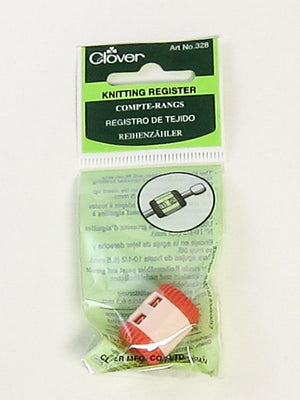 Clover 328 - Row Counter - Fengari Fiber Arts