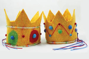 Harrisville Felted Crown Kit