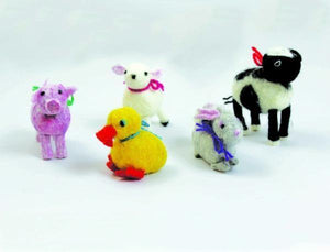 Felted Farm Animals