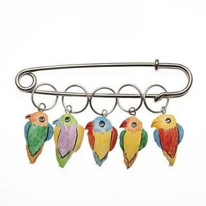 Wood Stitch Markers - Toucan