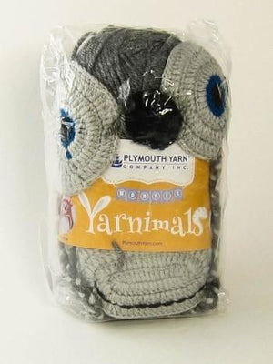 Yarnimal Kit - Monkey, Dark Grey