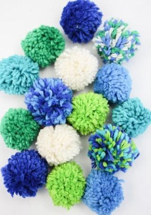 Harrisville Pom Pom Garland - Blues