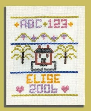 Cross Stitch Sampler Kit - Fengari Fiber Arts