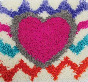 Latch Hooking Kit - Heart