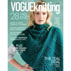 Vogue Knitting Magazine - Fall 2015