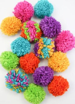 Pom Pom Garland Kit - Rainbow