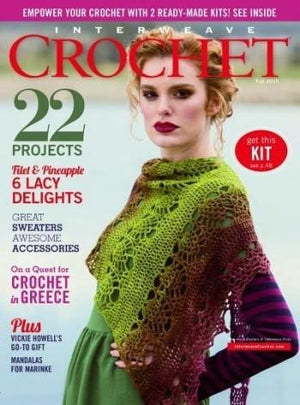Interweave Crochet Magazine - Fall 2015