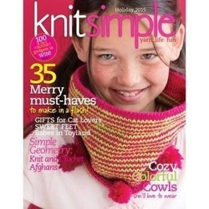 Knit Simple Magazine - Holiday 2015