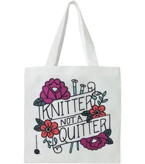 Boye Tote Knitter Not A Quitter