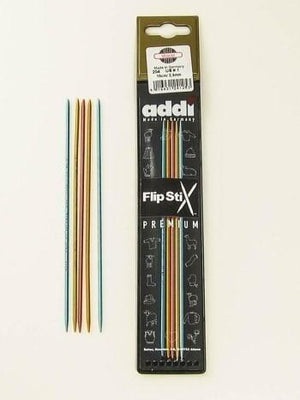 "Addi 8"" FlipStix Double-Pointed Needles US 7 (4.5mm) - Fengari Fiber Arts"