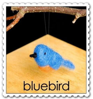Needle Felting Kit - Bluebird