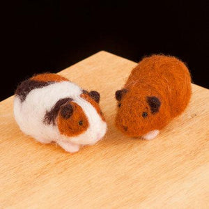Needle Felting Kit - Guinea Pig