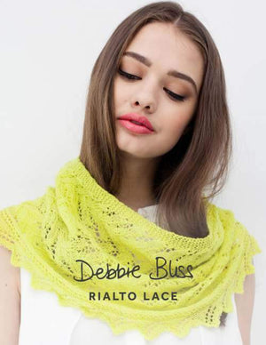 Lace-Edged Cowl
