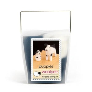 Needle Felting Kit - Puppies