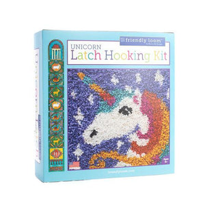 Latch Hooking Kit - Unicorn