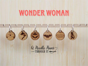 Stitch Markers - Wonder Woman Inspired