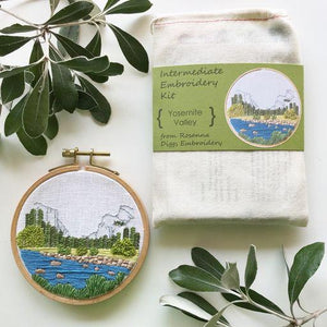 Yosemite Valley Embroidery Kit