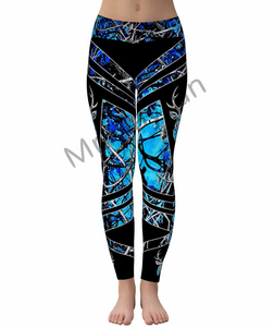 WW Hologram Tanktop En Legging Set