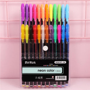 Sparkled Rainbow™ - Gel Pennen Set